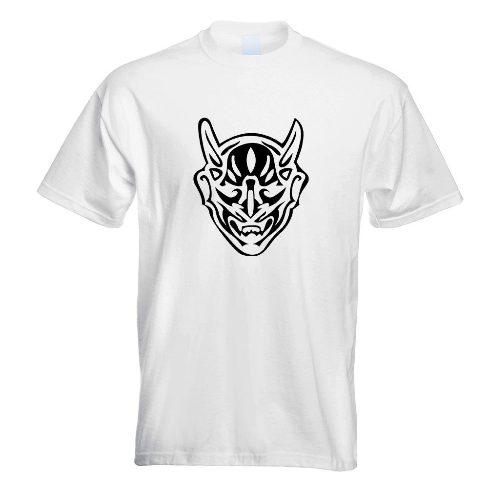miniatura 11 - Diavolo T-Shirt Motivo Stampato funshirt Design Print